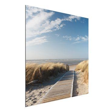 Quadro in alluminio - Baltic beach