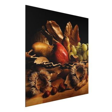 Quadro in alluminio - Still Life In Autumn