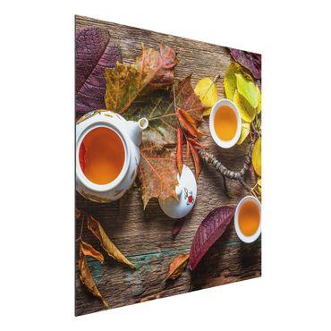Quadro in alluminio - Tea In September