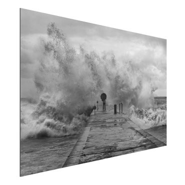 Quadro in alluminio - Raging Sea