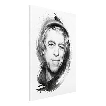 Quadro in alluminio - Bob Geldof
