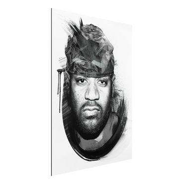 Quadro in alluminio - Ghostface Killah - Wu Tang Clan