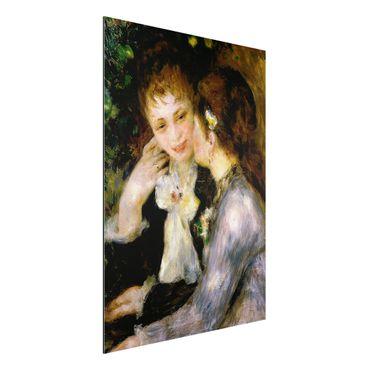 Quadro in alluminio - Auguste Renoir - Confidenze - Impressionismo