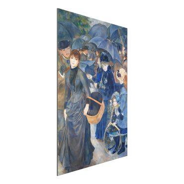 Quadro in alluminio - Auguste Renoir - Gli Ombrelli - Impressionismo