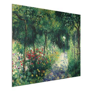 Quadro in alluminio - Auguste Renoir - Donne in un Giardino - Impressionismo