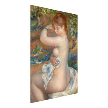 Quadro in alluminio - Auguste Renoir - Bagnante - Impressionismo