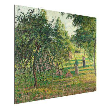 Quadro in alluminio - Camille Pissarro - Meli e Voltafieno, Eragny - Impressionismo