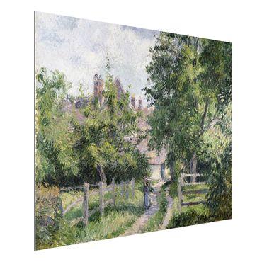Quadro in alluminio - Camille Pissarro - Saint-Martin, vicino a Gisors - Impressionismo