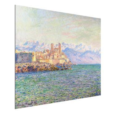 Quadro in alluminio - Claude Monet - Antibes, Le Fort - Impressionismo