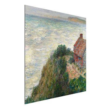Quadro in alluminio - Claude Monet - Casa del Pescatore a Petit Ailly - Impressionismo
