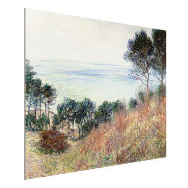 Quadro in alluminio - Claude Monet - Costa Varengeville - Impressionismo