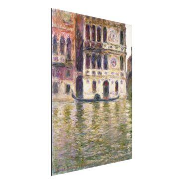 Quadro in alluminio - Claude Monet - Il Palazzo Dario - Impressionismo