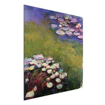 Quadro in alluminio - Claude Monet - Ninfee - Impressionismo