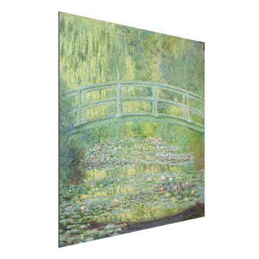 Quadro in alluminio - Claude Monet - Laghetto e il Ponte Giapponese - Impressionismo