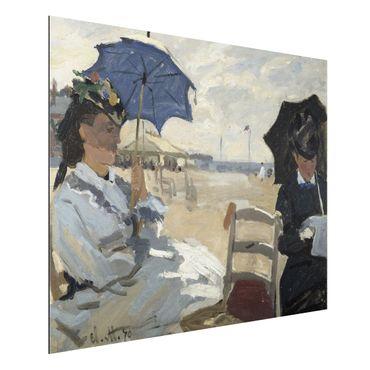Quadro in alluminio - Claude Monet - Sulla Spiaggia di Trouville - Impressionismo