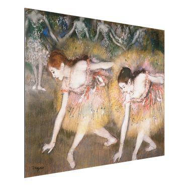 Quadro in alluminio - Edgar Degas - Ballerini Chinandosi - Impressionismo
