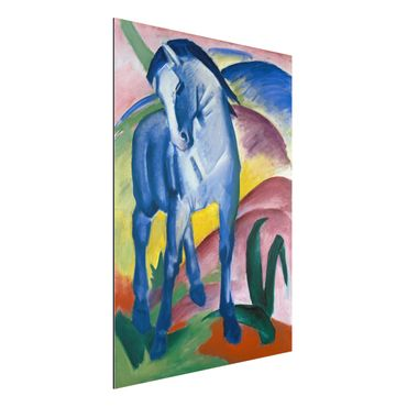 Quadro in alluminio - Franz Marc - Cavallo Blu I - Espressionismo