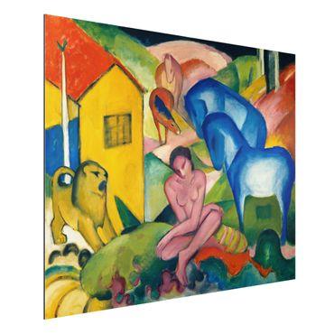 Quadro in alluminio - Franz Marc - Il Sogno - Espressionismo