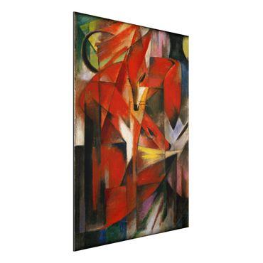 Quadro in alluminio - Franz Marc - Le Volpi - Espressionismo