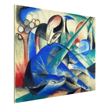Quadro in alluminio - Franz Marc - Un cavallo di sognare - Espressionismo
