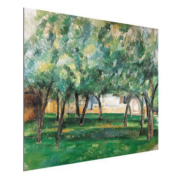 Quadro in alluminio - Paul Cézanne - Fattoria in Normandia - Impressionismo
