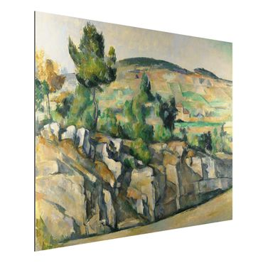 Quadro in alluminio - Paul Cézanne - Collina in Provenza - Impressionismo