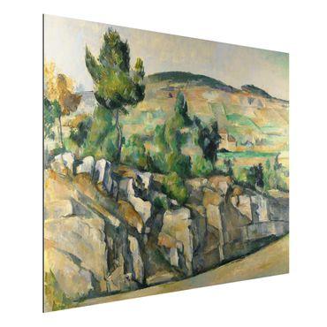 Quadro in alluminio - Paul Cézanne - Collina in Provenza - Impressionismo