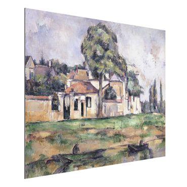 Quadro in alluminio - Paul Cézanne - Rive della Marna - Impressionismo