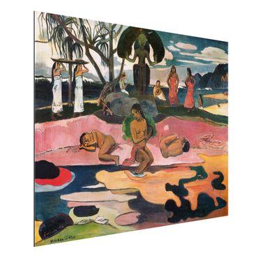 Quadro in alluminio - Paul Gauguin - Giorno di dio (Mahana No Atua) - Post-Impressionismo