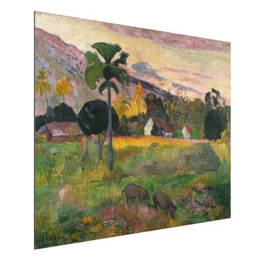 Quadro in alluminio - Paul Gauguin - Haere mai - Post-Impressionismo