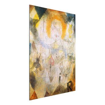 Quadro in alluminio - Paul Klee - Irma Rossa - Espressionismo