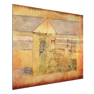 Quadro in alluminio - Paul Klee - Atterraggio Meraviglioso, o '112!' - Espressionismo