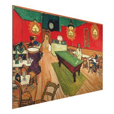 Quadro in alluminio - Vincent van Gogh - Il caffè di notte - Post-Impressionismo