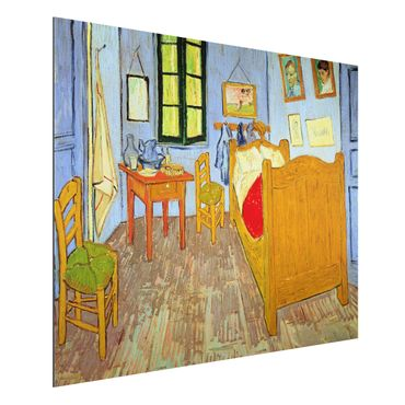 Quadro in alluminio - Vincent van Gogh - La Camera di Vincent ad Arles - Post-Impressionismo