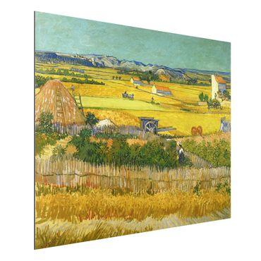 Quadro in alluminio - Vincent van Gogh - La Vendemmia - Post-Impressionismo