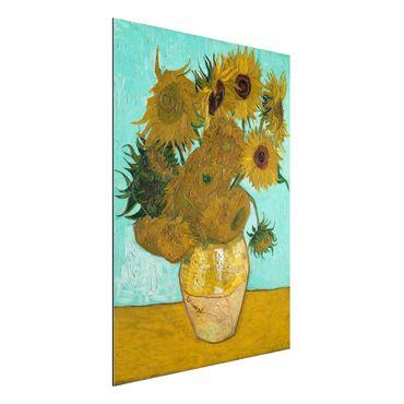 Quadro in alluminio - Vincent van Gogh - Vaso con Dodici Girasoli - Post-Impressionismo