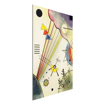 Quadro in alluminio - Wassily Kandinsky - Distinto Connection - Espressionismo