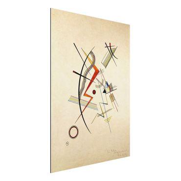 Quadro in alluminio - Wassily Kandinsky - Dono annuale alla società Kandinsky - Espressionismo
