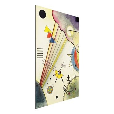 Quadro in alluminio - Wassily Kandinsky - Distinto Connection - Espressionismo