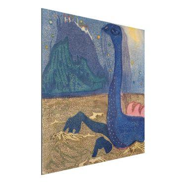 Quadro in alluminio - Wassily Kandinsky - Notte di Luna - Espressionismo
