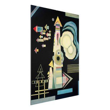 Quadro in alluminio - Wassily Kandinsky - Frecce - Espressionismo