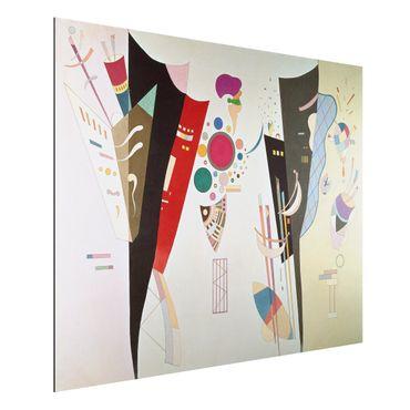 Quadro in alluminio - Wassily Kandinsky - Accordo reciproco - Espressionismo