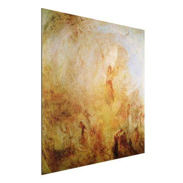 Quadro in alluminio - William Turner - L'angelo in piedi al Sole - Romanticismo