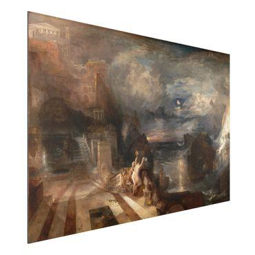 Quadro in alluminio - William Turner - Ero e Leandro - Romanticismo