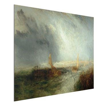 Quadro in alluminio - William Turner - Ostend - Romanticismo