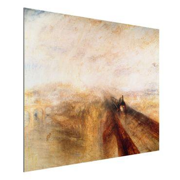 Quadro in alluminio - William Turner - Pioggia, Vapore e Velocità - Romanticismo