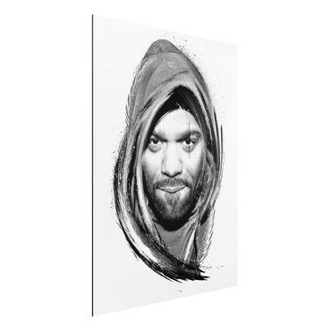 Quadro in alluminio - Method Man - Wut Tang Clan