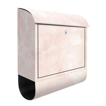 Cassetta postale - Struttura acquerello con dune di sabbia color crema