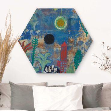 Esagono in legno - Paul Klee - Sunken Paesaggio