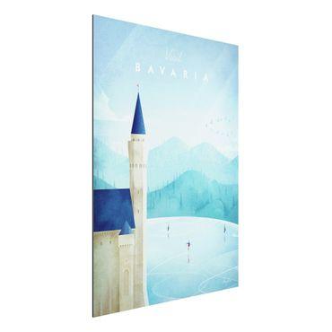 Stampa su alluminio - Poster TRAVEL - Baviera - Verticale 4:3